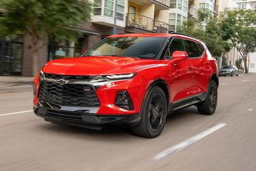 Red Tintcoat 2020 Chevrolet Blazer LT  Wake Forest NC