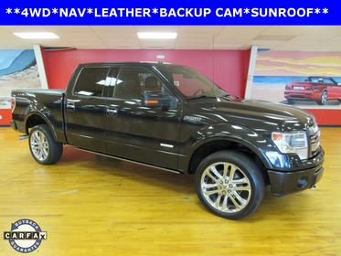 Tuxedo Black Metallic 2014 Ford F-150 LIMITED Crew Cab Pickup Manassas VA