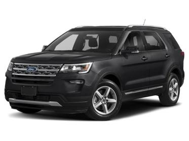 Black 2019 Ford Explorer Base SUV Mooresville NC