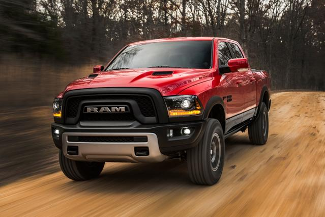 2017 Ram 1500 BIG HORN Crew Cab Pickup Slide 0