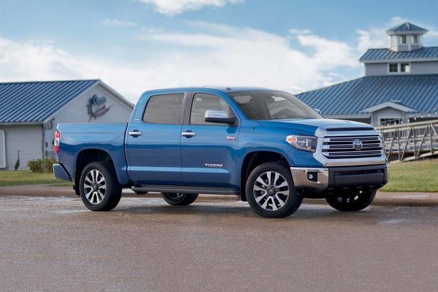 2020 Toyota Tundra LIMITED LIMITED CREWMAX 5.5' BED 5.7L CrewMax Slide 0