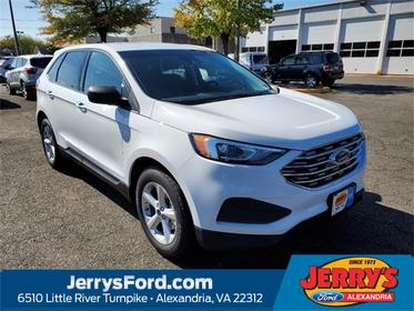 Oxford White 2020 Ford Edge SE SUV Alexandria VA