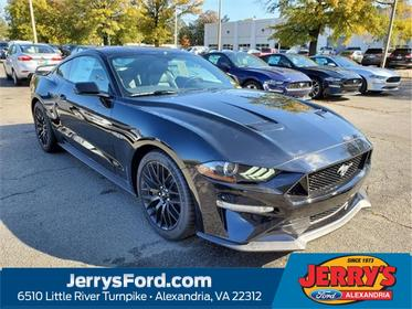 Shadow Black 2020 Ford Mustang GT PREMIUM 2dr Car Alexandria VA