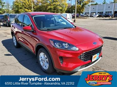 Red Metallic 2020 Ford Escape SE SUV Alexandria VA