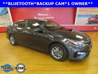 Platinum Graphite 2019 Kia Optima LX 4dr Car Manassas VA