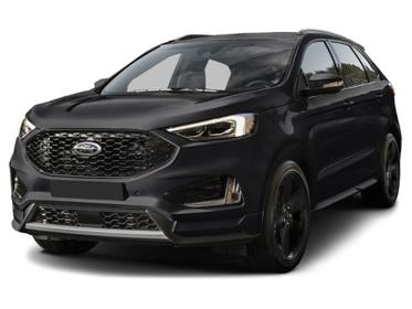 Agate Black Metallic 2019 Ford Edge Titanium SUV Huntington NY