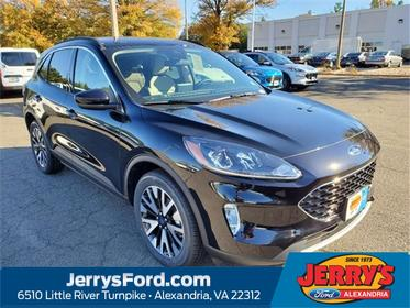 Black Metallic 2020 Ford Escape SEL SUV  VA