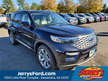 Black Metallic 2020 Ford Explorer Platinum SUV Alexandria VA