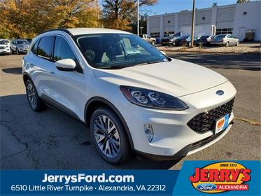 White Metallic 2020 Ford Escape TITANIUM SUV  VA