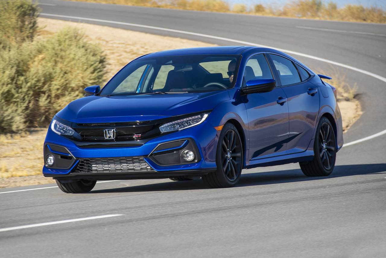 2020 Honda Civic Hatchback EX-L Hatchback Slide 0