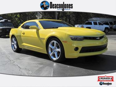 Bright Yellow 2015 Chevrolet Camaro LT 2dr Car