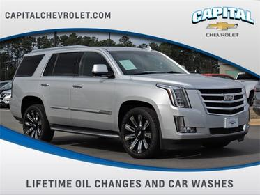 Radiant Silver Metallic 2015 Cadillac Escalade LUXURY SUV Raleigh NC