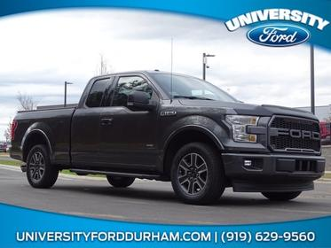 Magnetic Metallic 2017 Ford F-150 XLT Extended Cab Pickup Lexington NC