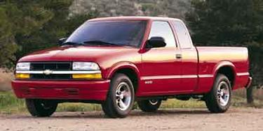Blue 2001 Chevrolet S-10 LS Extended Cab Pickup 4X4 New Bern NC