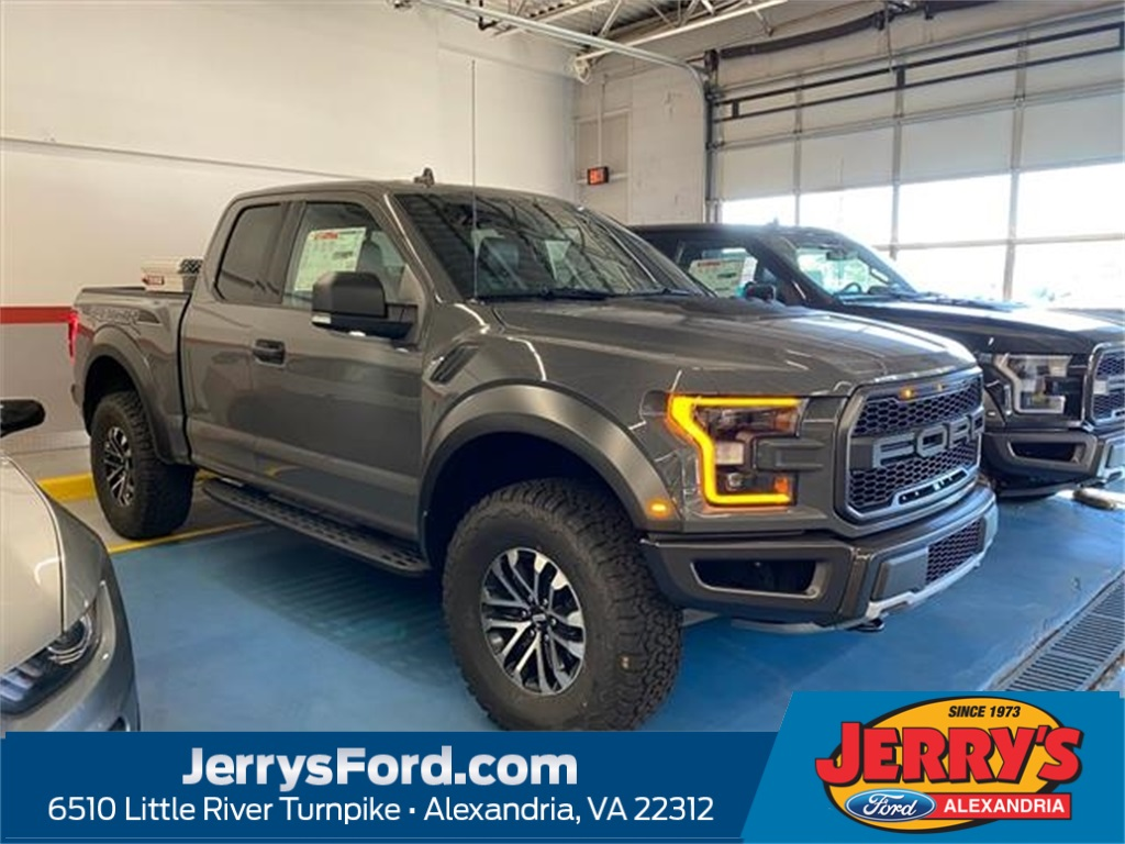 2020 Ford F-150 RAPTOR Extended Cab Pickup Slide 0