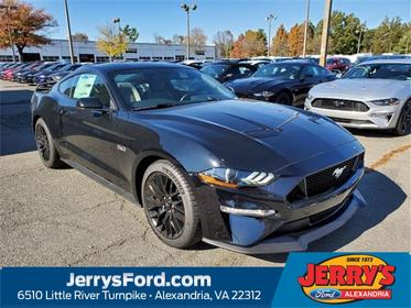 Shadow Black 2020 Ford Mustang GT 2dr Car Alexandria VA