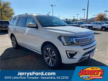 White 2020 Ford Expedition PLATINUM SUV Alexandria VA