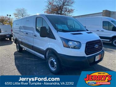 Oxford White 2019 Ford Transit-250 Base Van Leesburg VA
