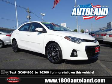 2016 Toyota Corolla S PLUS 4dr Car Slide