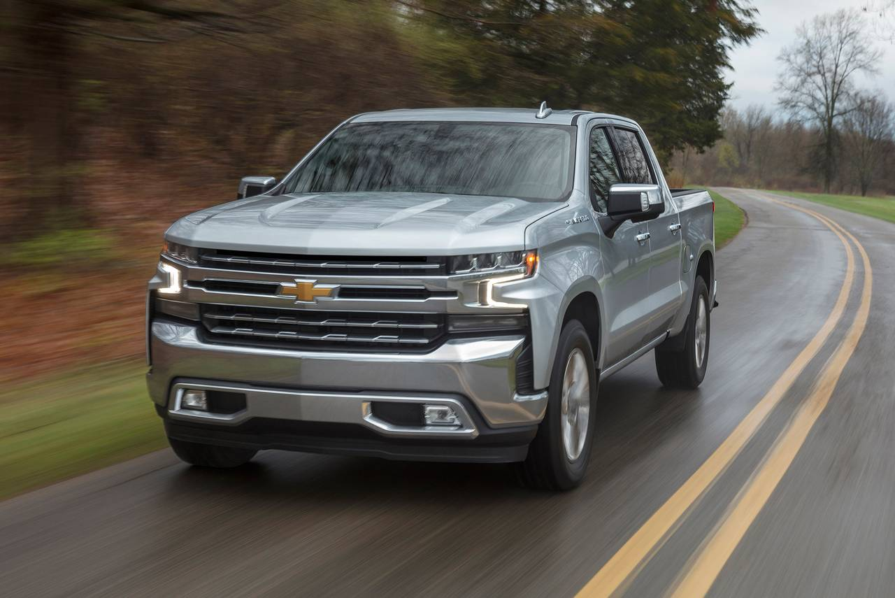2020 Chevrolet Silverado 1500 CUSTOM Slide 0