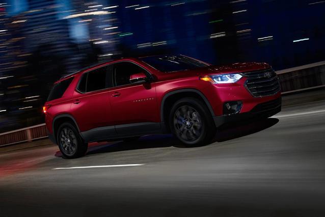 2020 Chevrolet Traverse LT LEATHER SUV Slide 0