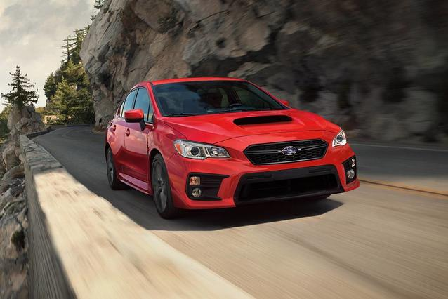 2020 Subaru WRX BASE 4dr Car Slide 0