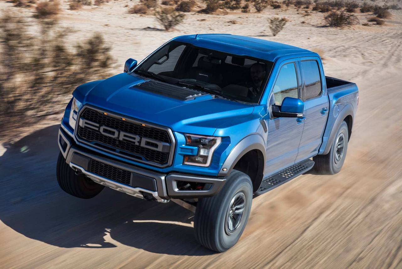 2020 Ford F-150 RAPTOR Short Bed Slide 0