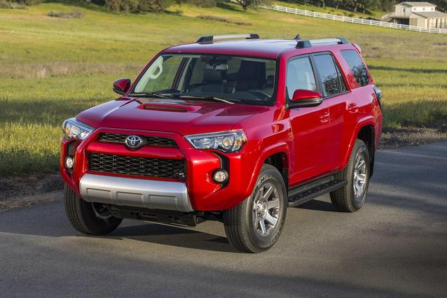 2020 Toyota 4Runner TRD OFF ROAD SUV Slide 0