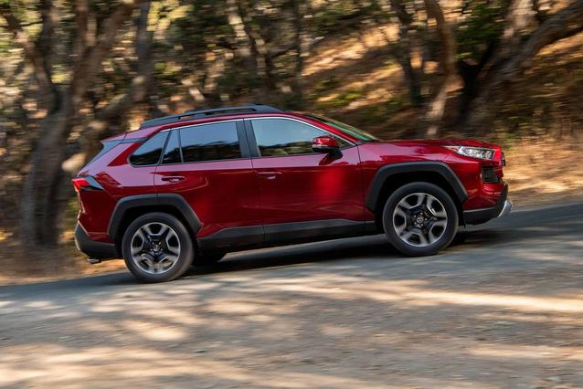 2020 Toyota RAV4 LIMITED LIMITED AWD Sport Utility Slide 0