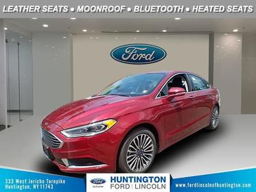Ruby Red Metallic Tinted Clearcoat 2018 Ford Fusion SE 4dr Car Huntington NY