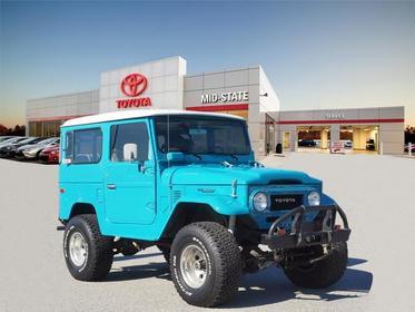 Blue 1978 Toyota Fj40  2 Dr Asheboro NC