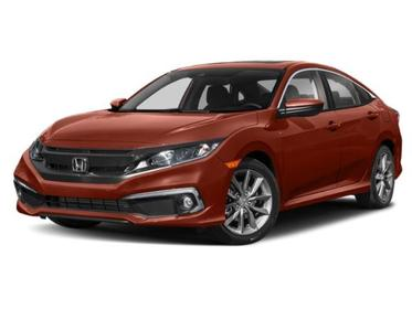 Modern Steel Metallic 2019 Honda Civic Sedan EX-L  NC