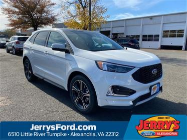 White 2020 Ford Edge ST SUV  VA