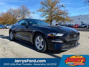 Shadow Black 2020 Ford Mustang ECOBOOST 2dr Car  VA