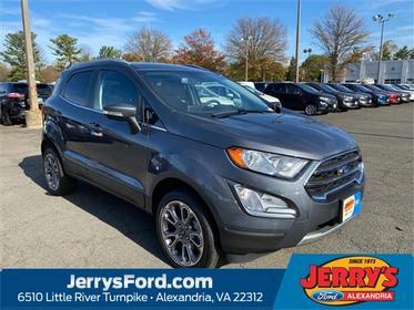 Smoke 2019 Ford EcoSport TITANIUM SUV Alexandria VA