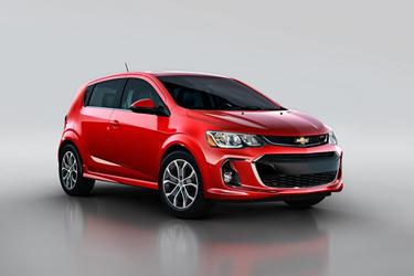 Red 2020 Chevrolet Sonic LT  Wake Forest NC