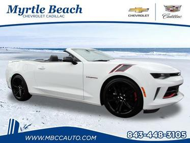 White 2018 Chevrolet Camaro LT LT 2dr Convertible w/2LT Wake Forest NC