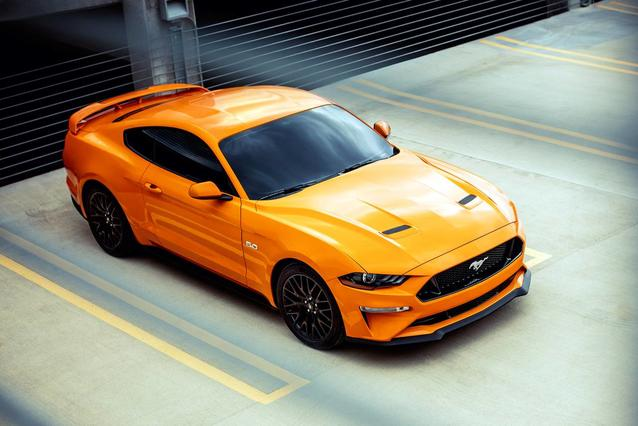 2018 Ford Mustang ECOBOOST PREMIUM 2D Convertible Slide 0