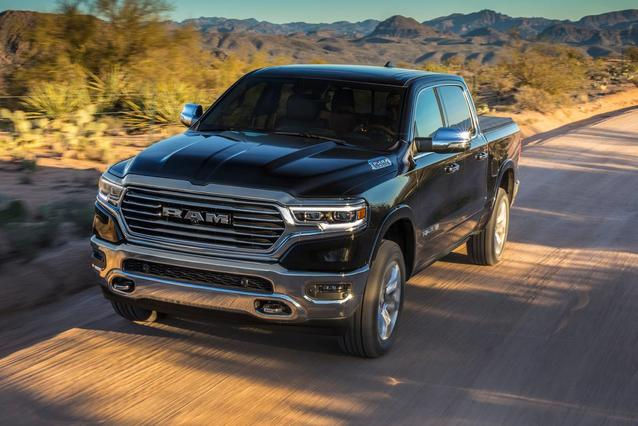 2020 Ram 1500 REBEL Crew Cab Pickup Slide 0