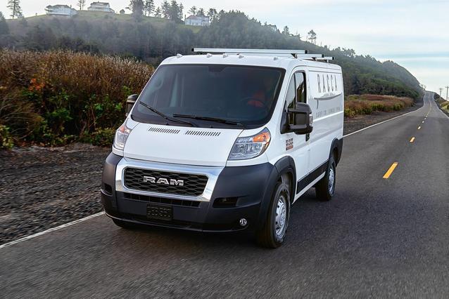 """2020 RAM Promaster Cargo Van 3500 HIGH ROOF 159"""" WB EXT Full-size Cargo Van Slide 0"""