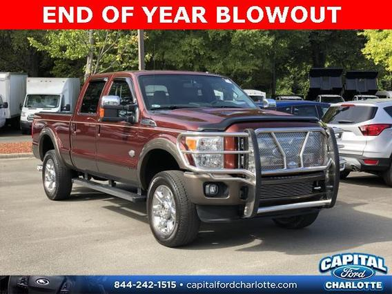 2015 Ford F-350SD  Srw KING RANCH 4D Crew Cab Slide 0