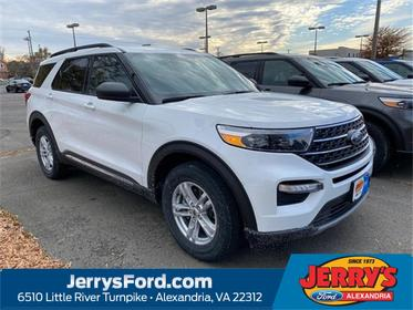 Oxford White 2020 Ford Explorer XLT SUV Alexandria VA