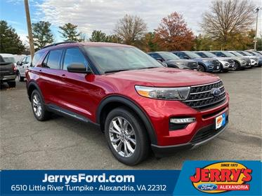 Red 2020 Ford Explorer XLT SUV  VA