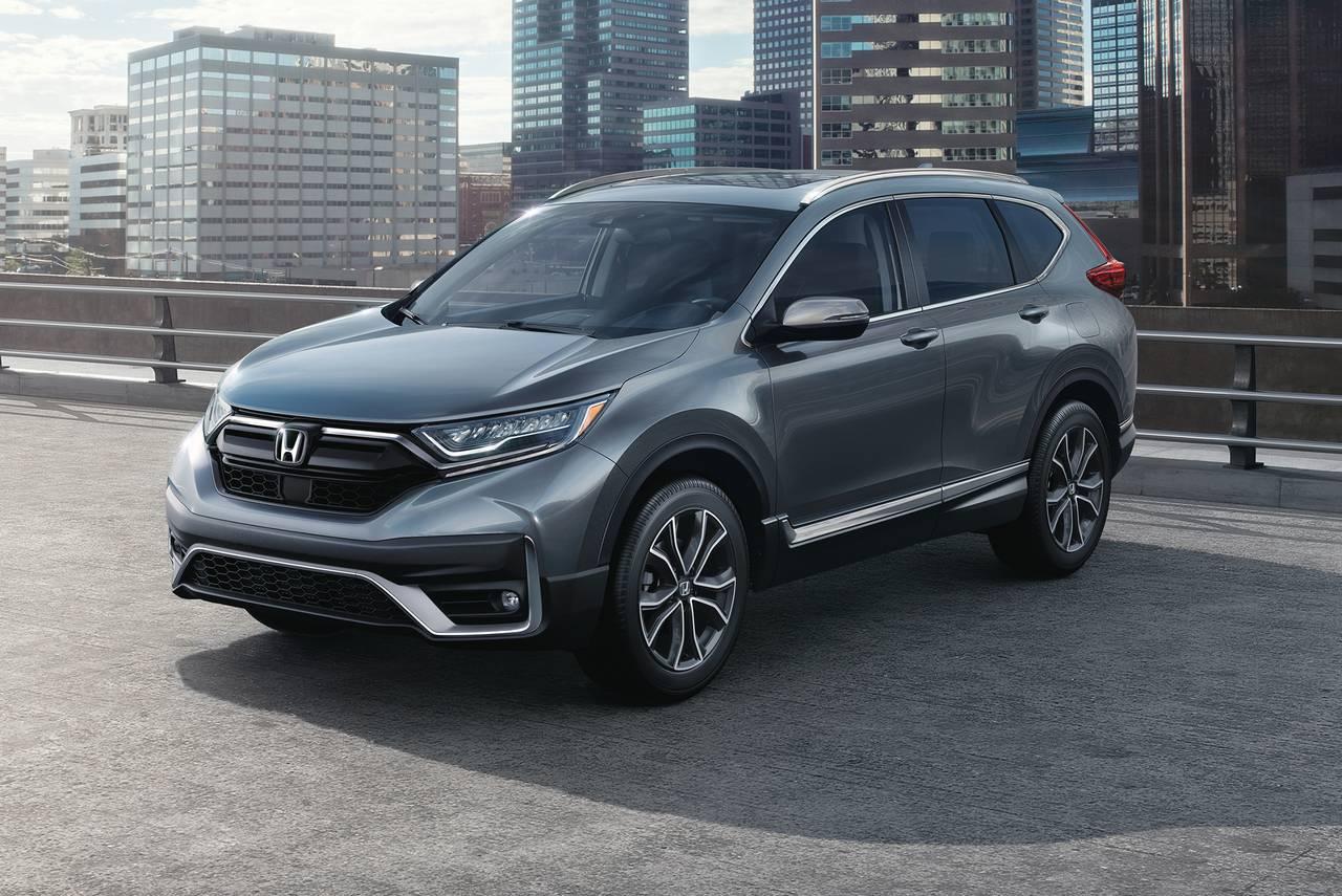 2020 Honda CR-V EX Sport Utility Slide 0