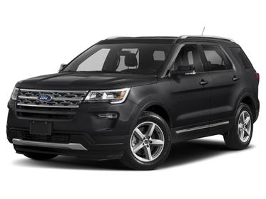Black 2019 Ford Explorer  4D Sport Utility Raleigh NC