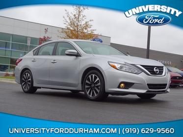 Brilliant Silver 2018 Nissan Altima 2.5 SL 4dr Car Raleigh NC