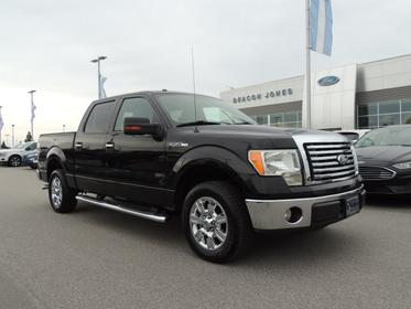 Black 2010 Ford F-150 XLT Crew Cab Pickup Goldsboro NC