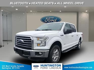 Wh 2016 Ford F-150 XLT Crew Pickup Huntington NY