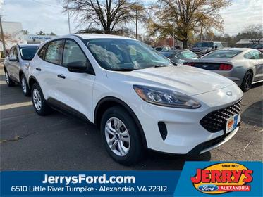 Oxford White 2020 Ford Escape S SUV  VA
