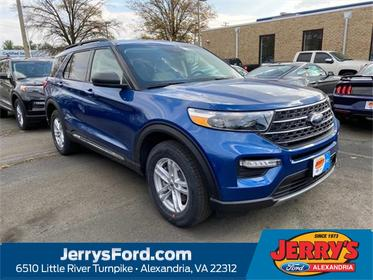 Blue Metallic 2020 Ford Explorer XLT SUV Alexandria VA